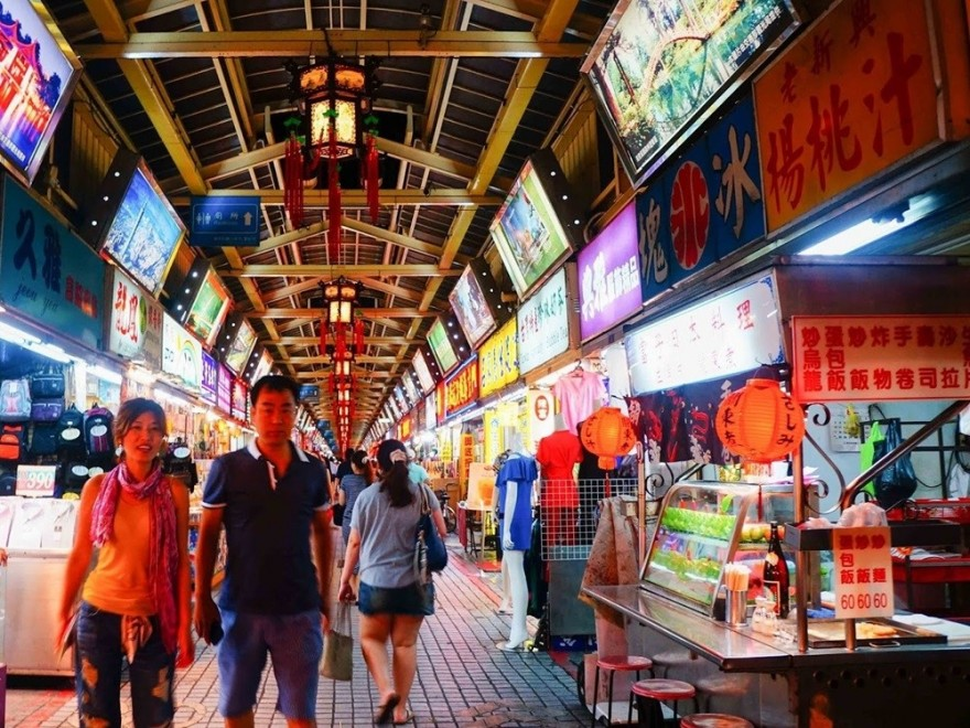 台北夜間觀光